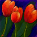 three-tulips