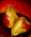 two-pears-on-the-table